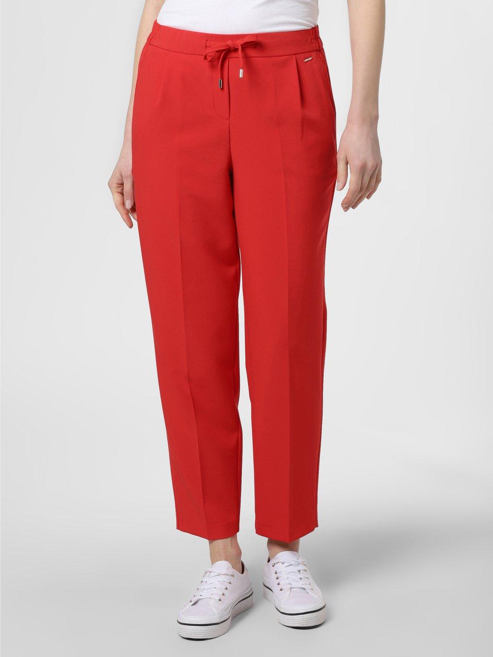 comma - Spodnie damskie, czerwony
