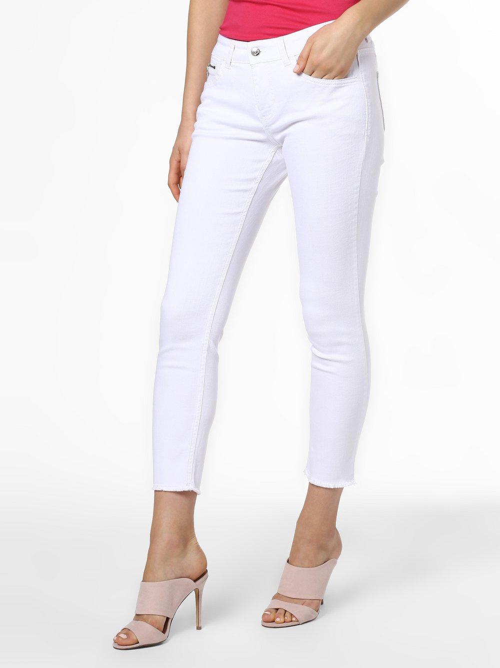 MAC - Jeansy damskie, biały