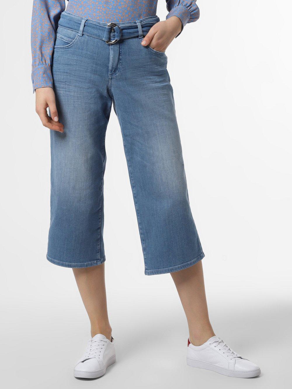 MAC – Jeansy damskie – Greta, niebieski Van Graaf 465002-0001-00400