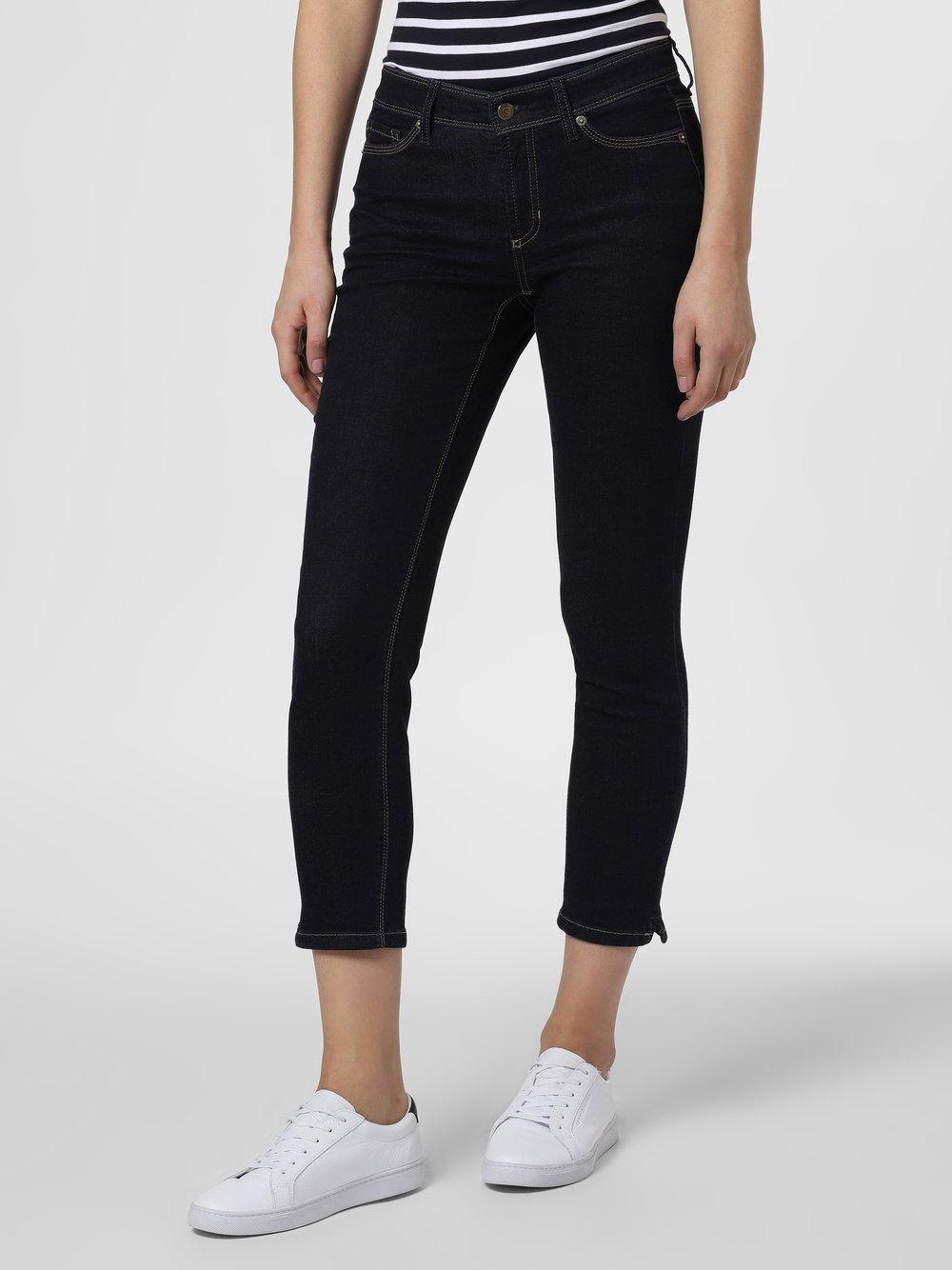 Cambio - Spodnie damskie – Piper slim, niebieski
