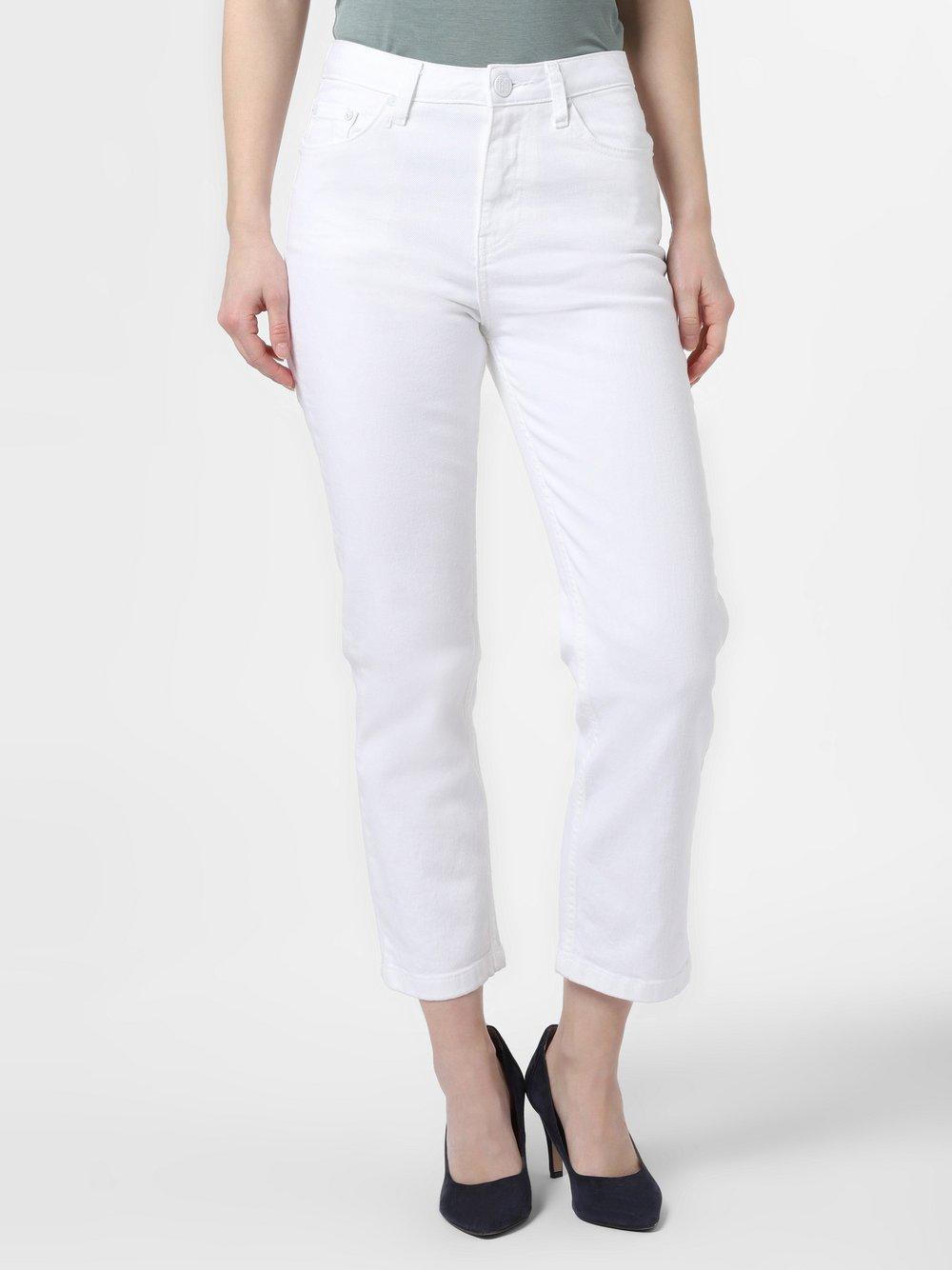 NIKKIE – Spodnie damskie – Celly, biały Van Graaf 465055-0001-00260