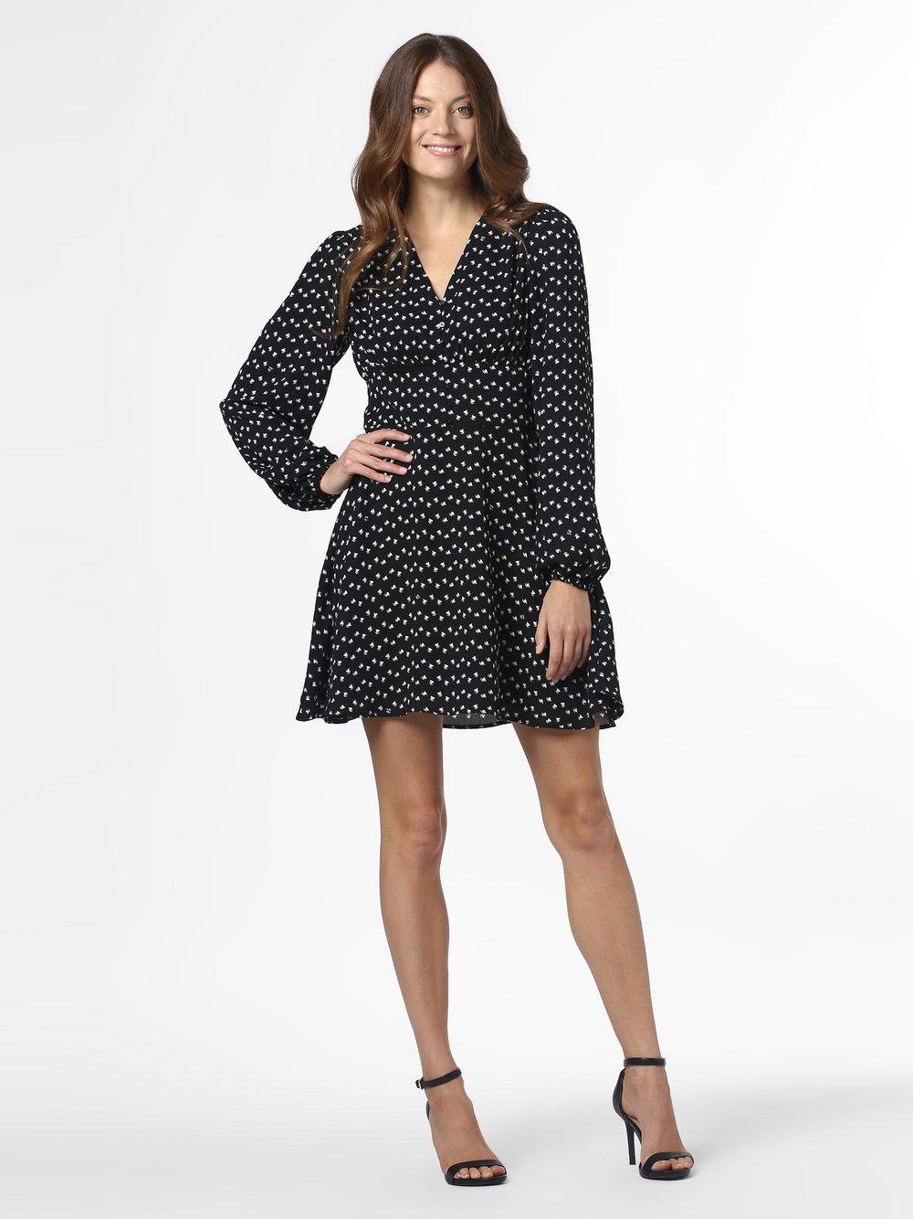 NIKKIE – Sukienka damska – Raye, czarny Van Graaf 465062-0001-00340