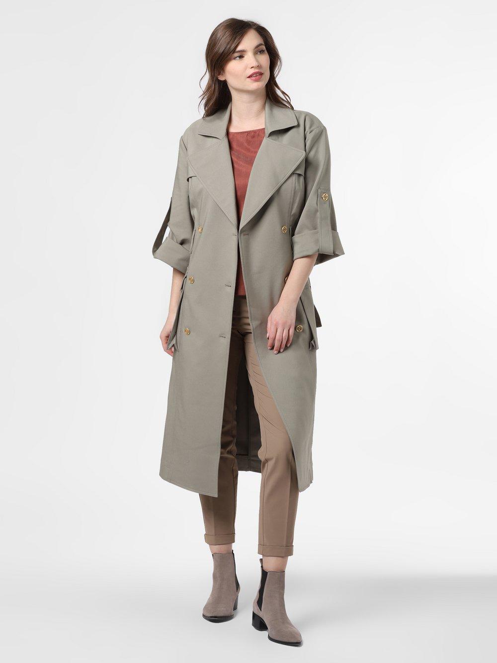 NIKKIE – Płaszcz damski – Lizzy, zielony Van Graaf 465068-0001-00360