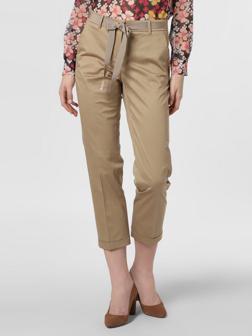 Cambio - Spodnie damskie – Ginger, beżowy