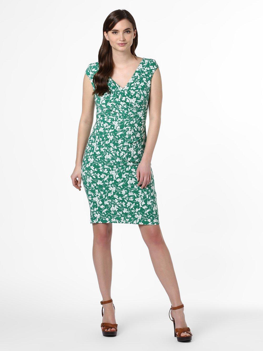 Lauren Ralph Lauren - Sukienka damska, zielony