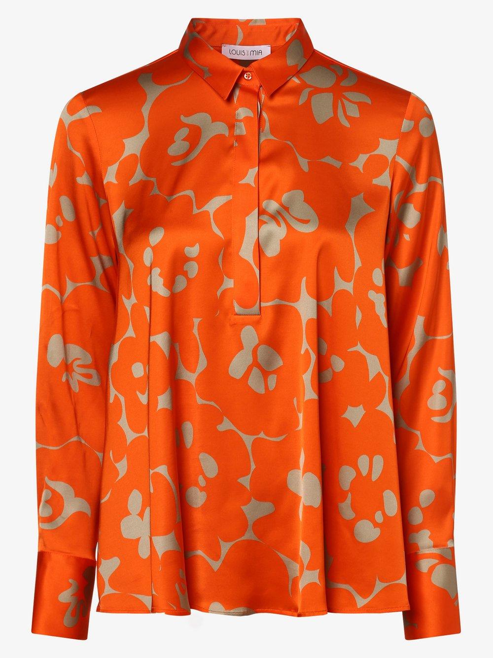 Louis & Mia – Bluzka damska, pomarańczowy Van Graaf 465323-0001-00380
