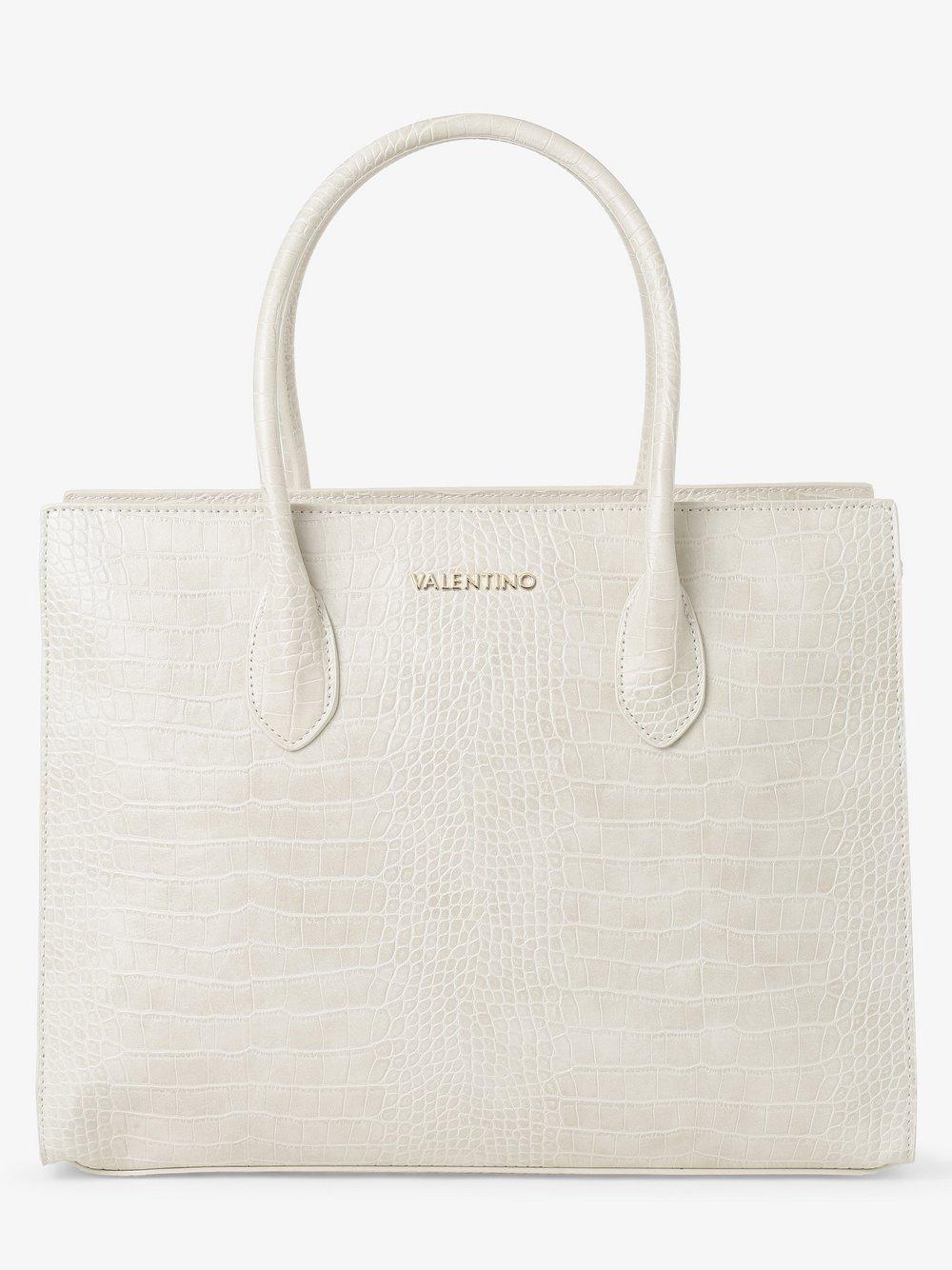 VALENTINO HANDBAGS – Damska torba shopper – Summer Memento, beżowy Van Graaf 465349-0002-00000