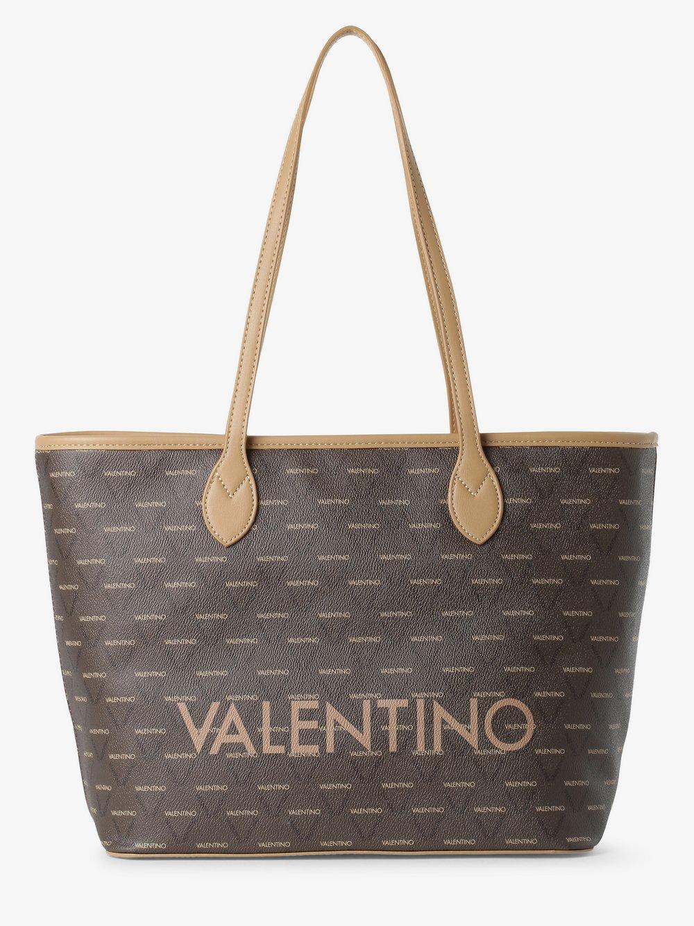 VALENTINO HANDBAGS - Damska torba shopper – Liuto, brązowy