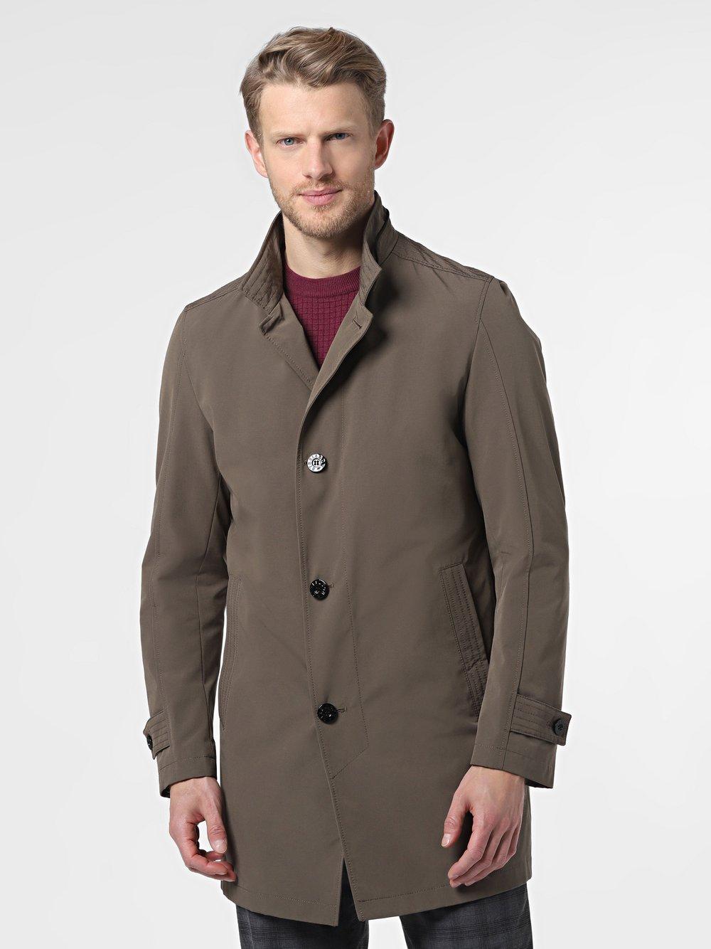 Strellson - Płaszcz męski – Richmond, zielony