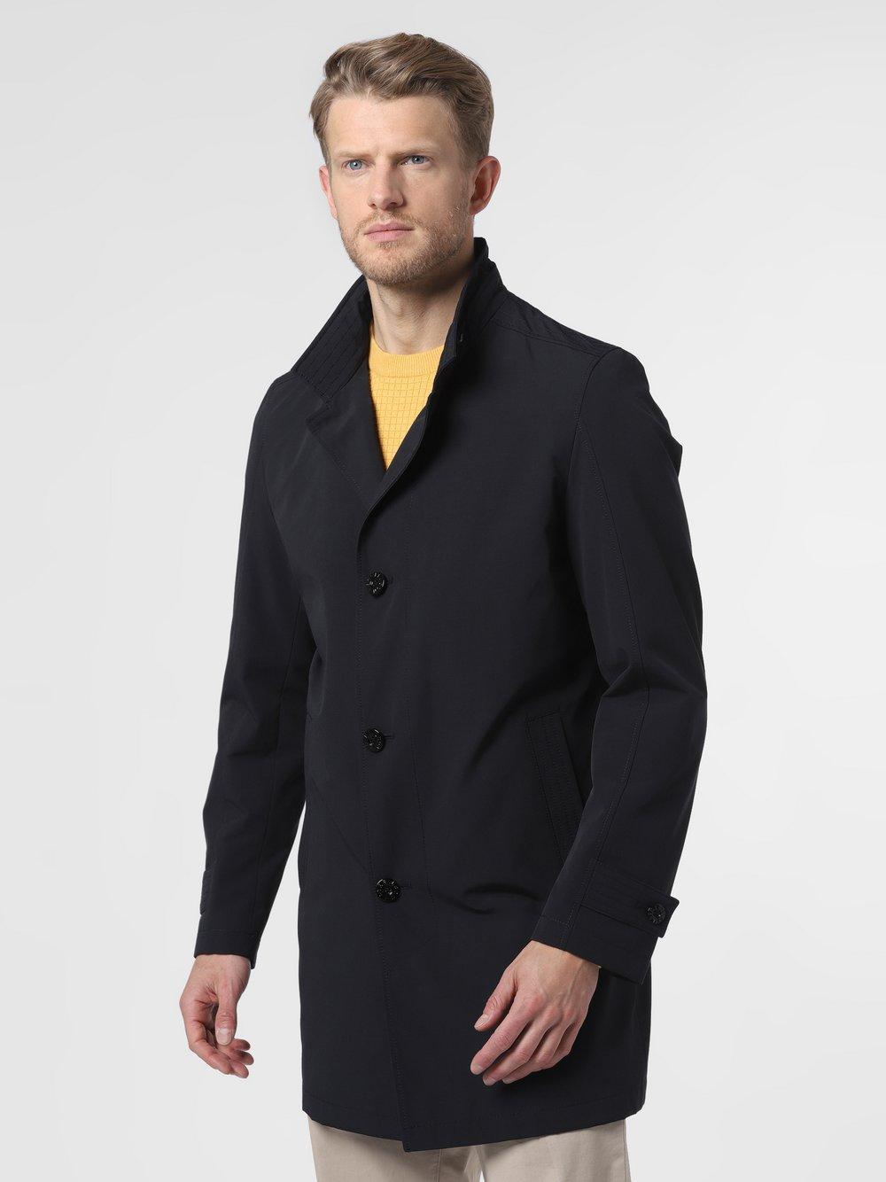 Strellson - Płaszcz męski – Richmond, niebieski