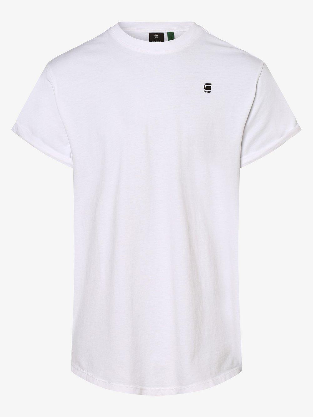 G-Star RAW - T-shirt męski, biały