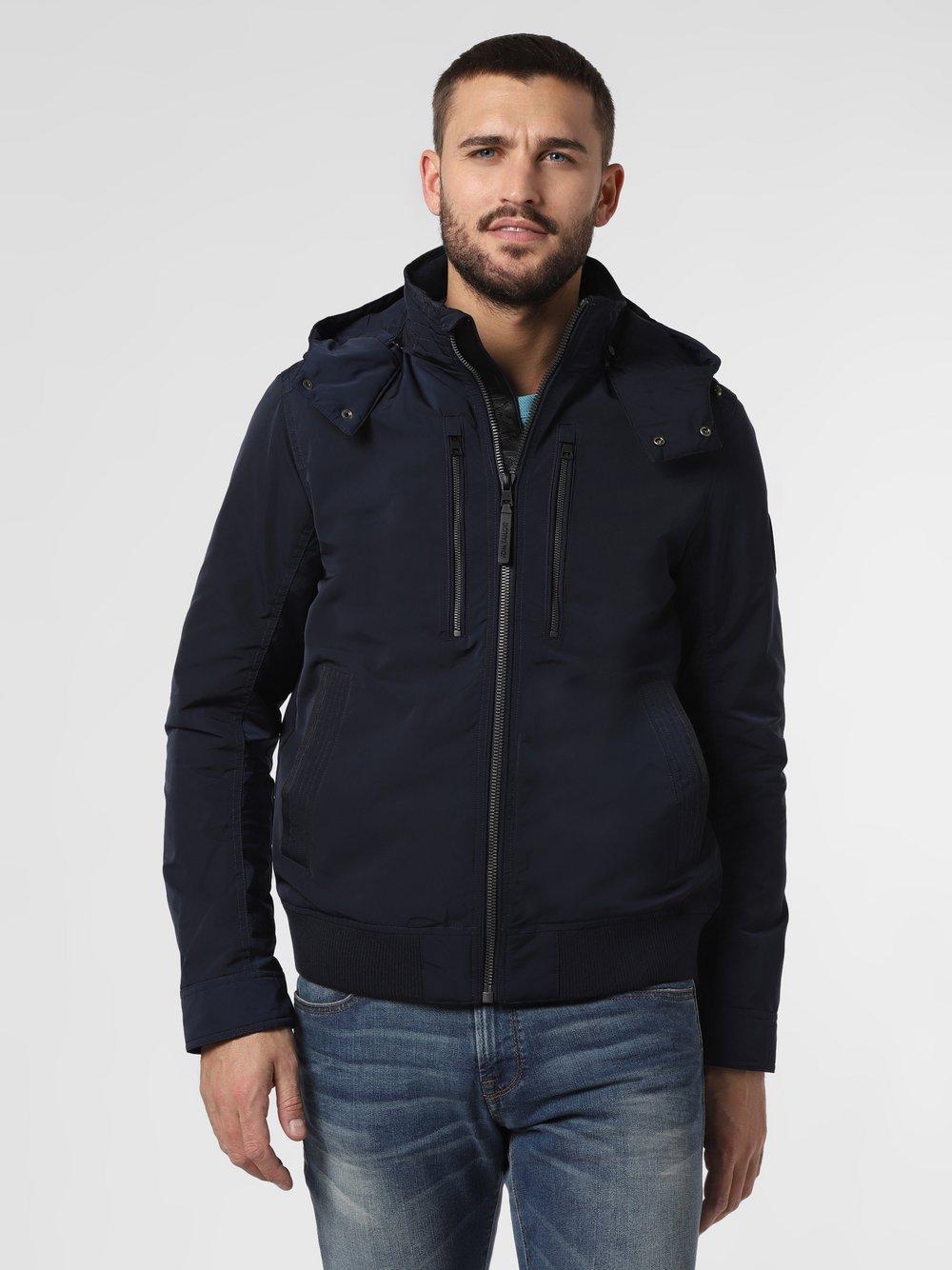 Tom Tailor – Męska kurtka funkcyjna, czarny Van Graaf 465947-0001