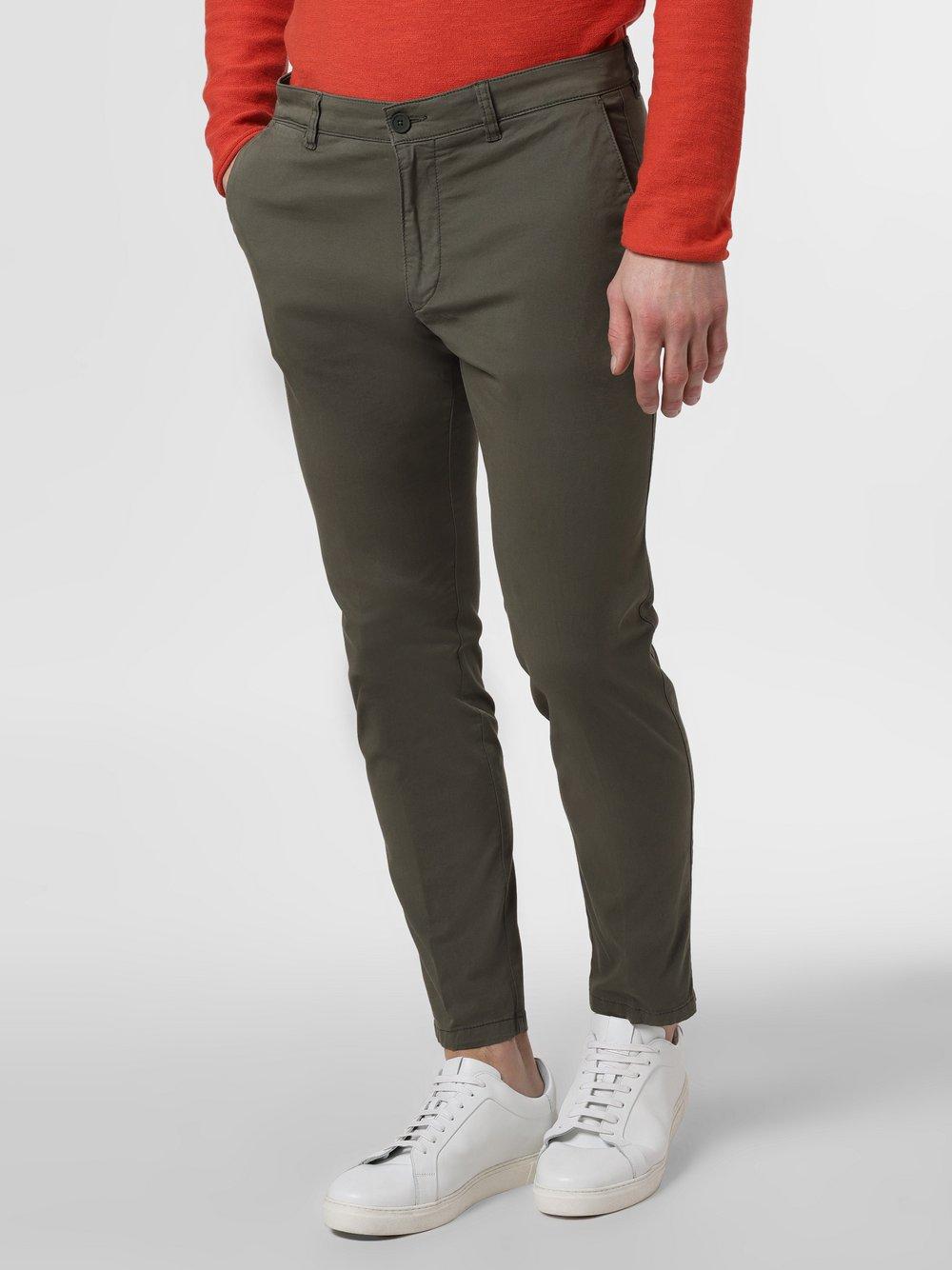 Drykorn - Spodnie męskie – Mad, zielony