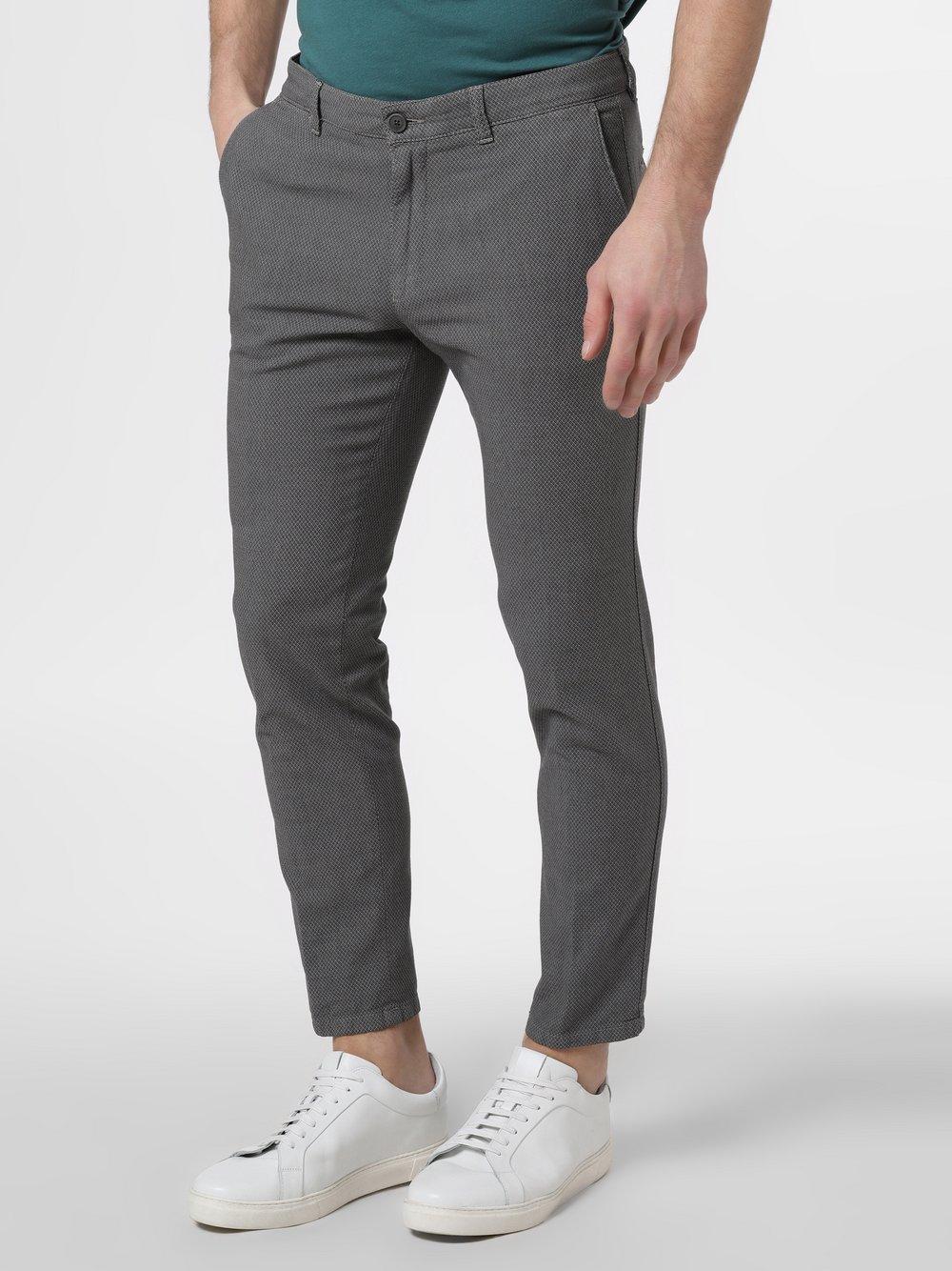 Drykorn - Spodnie męskie – Mad, szary