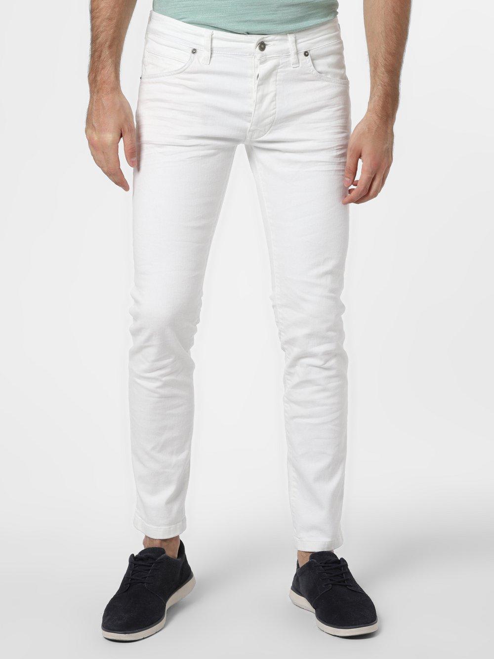 Drykorn - Jeansy męskie – Jaz, biały