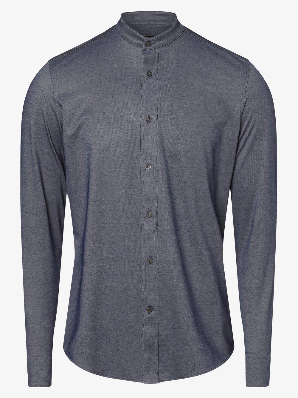 Drykorn - Koszula męska – Tarok, niebieski