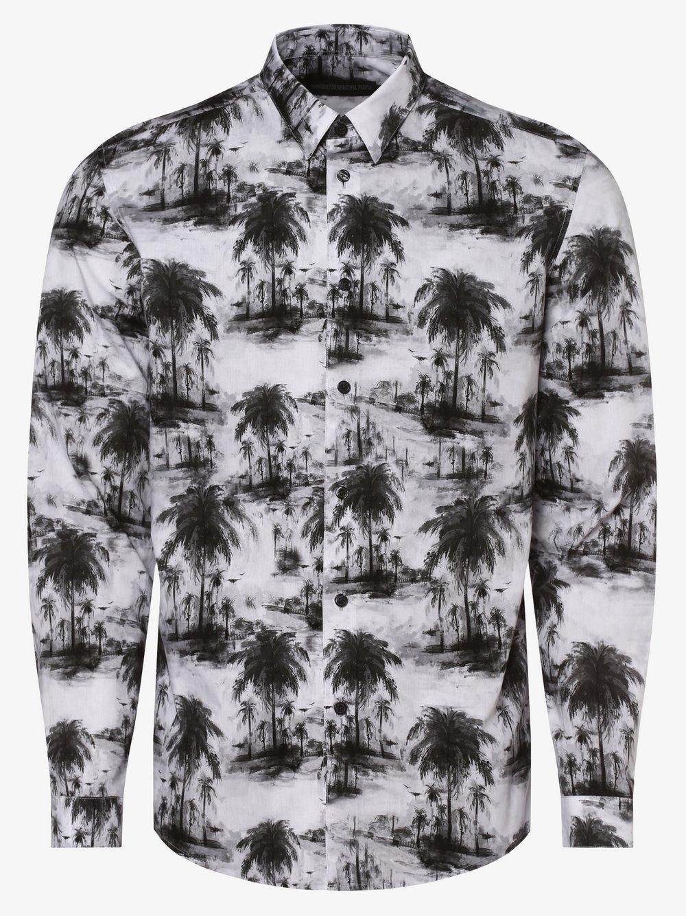 Drykorn - Koszula męska – Ruben, szary