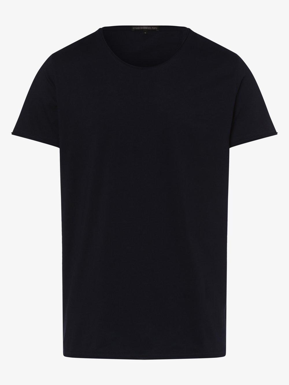 Drykorn - T-shirt męski – Kendrick, niebieski