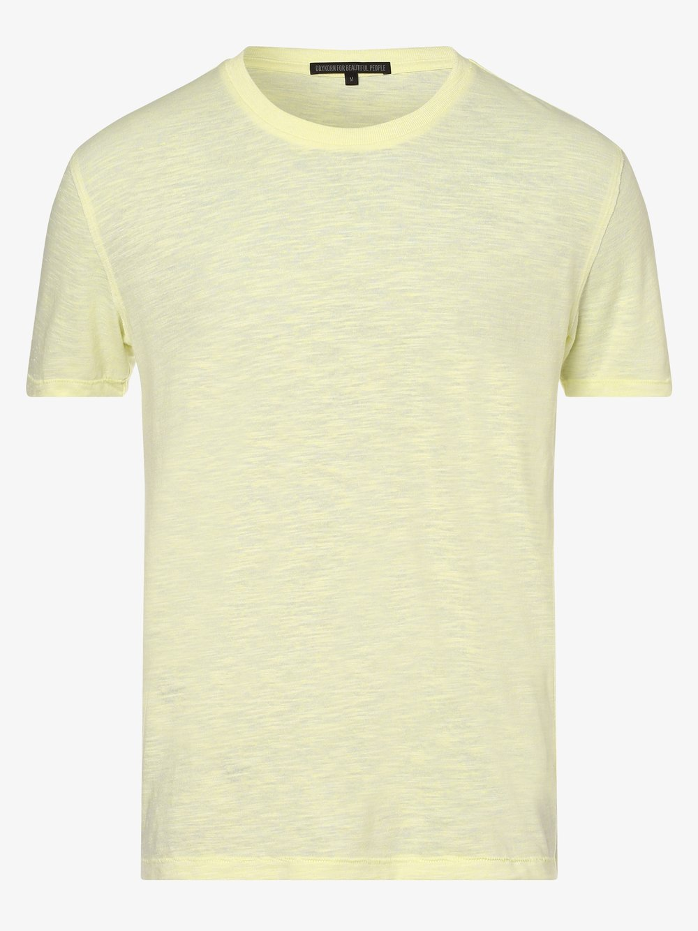 Drykorn - T-shirt męski – Lias, żółty