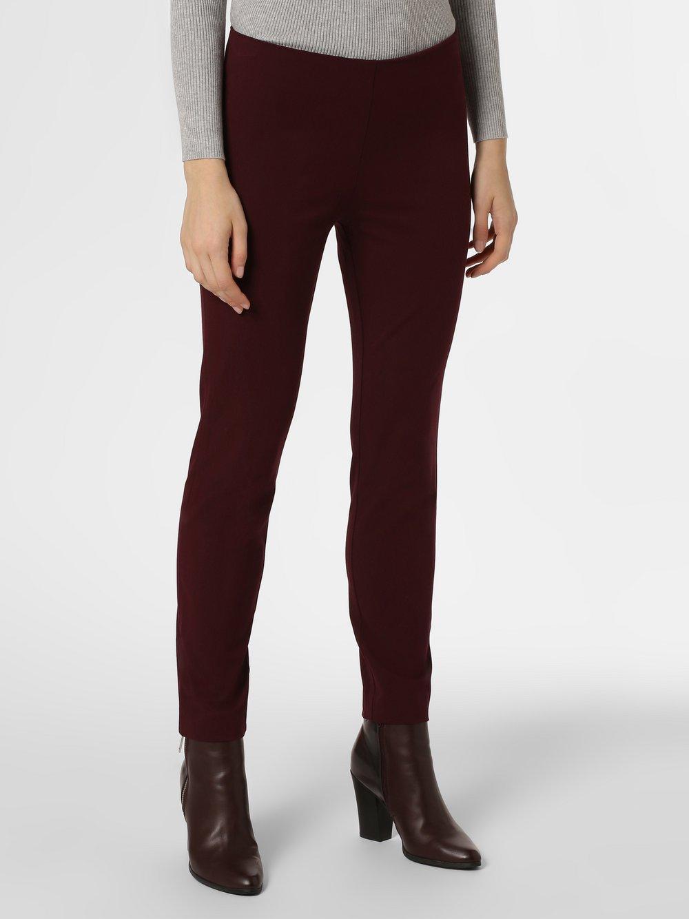 Lauren Ralph Lauren - Spodnie damskie, czerwony