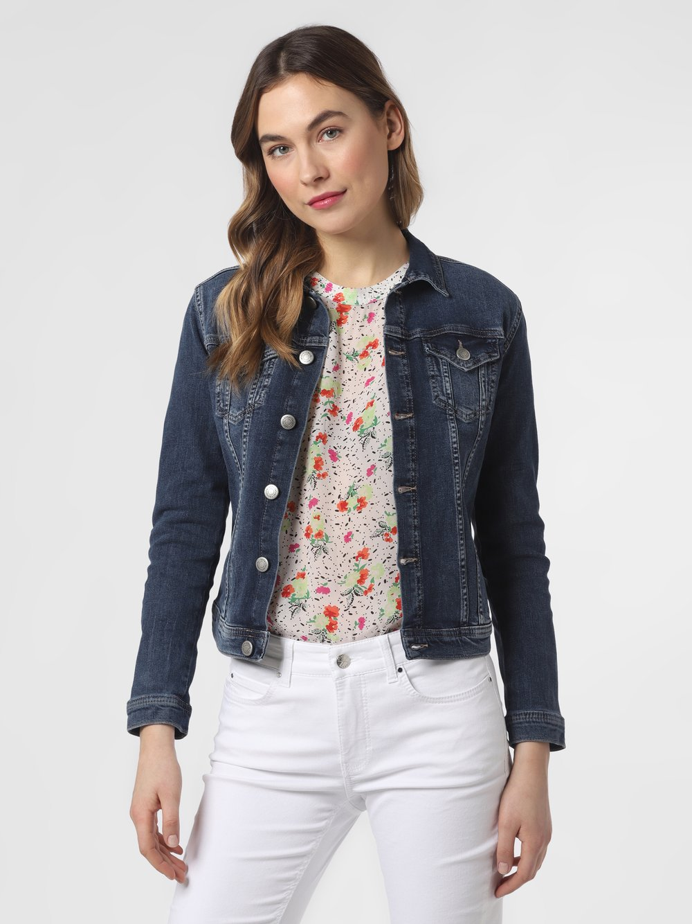 soyaconcept® – Damska kurtka jeansowa – Gela, niebieski Van Graaf 466199-0001-09970