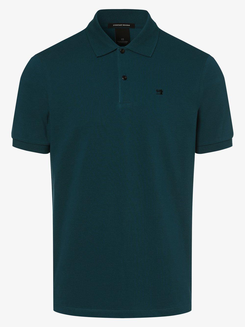 Scotch & Soda - Męska koszulka polo, niebieski