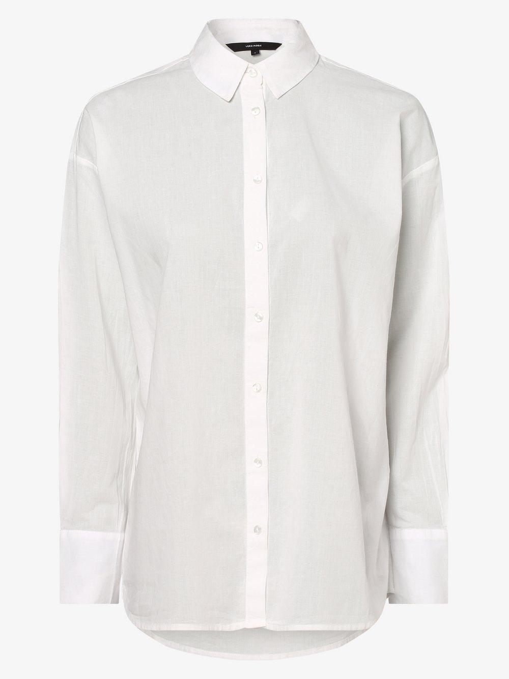 Vero Moda – Bluzka damska – Vmindia, biały Van Graaf 466376-0001