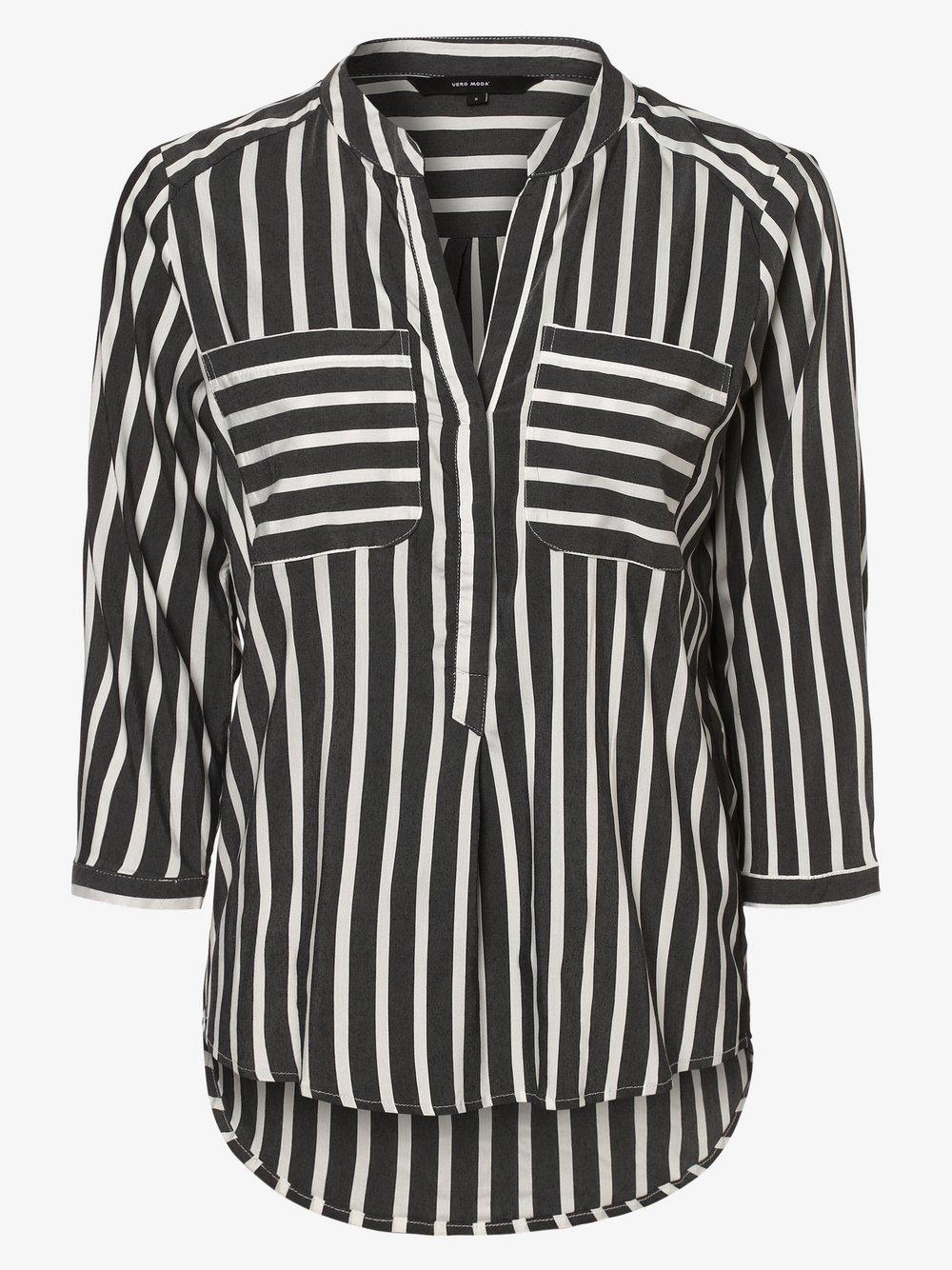 Vero Moda - Bluzka damska – Vmerika, czarny