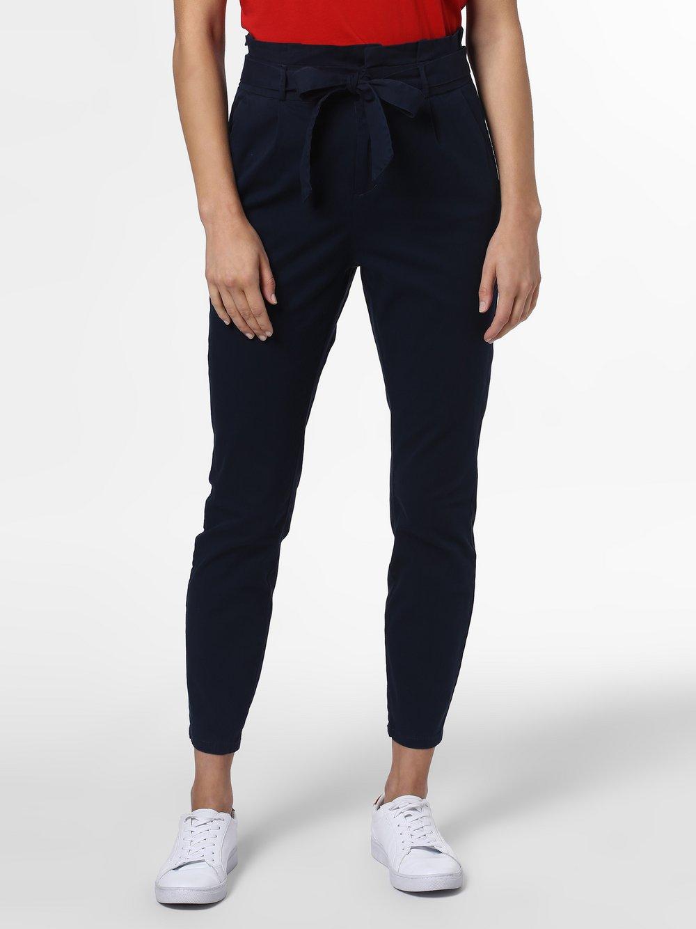 Vero Moda - Spodnie damskie – Vmeva, niebieski