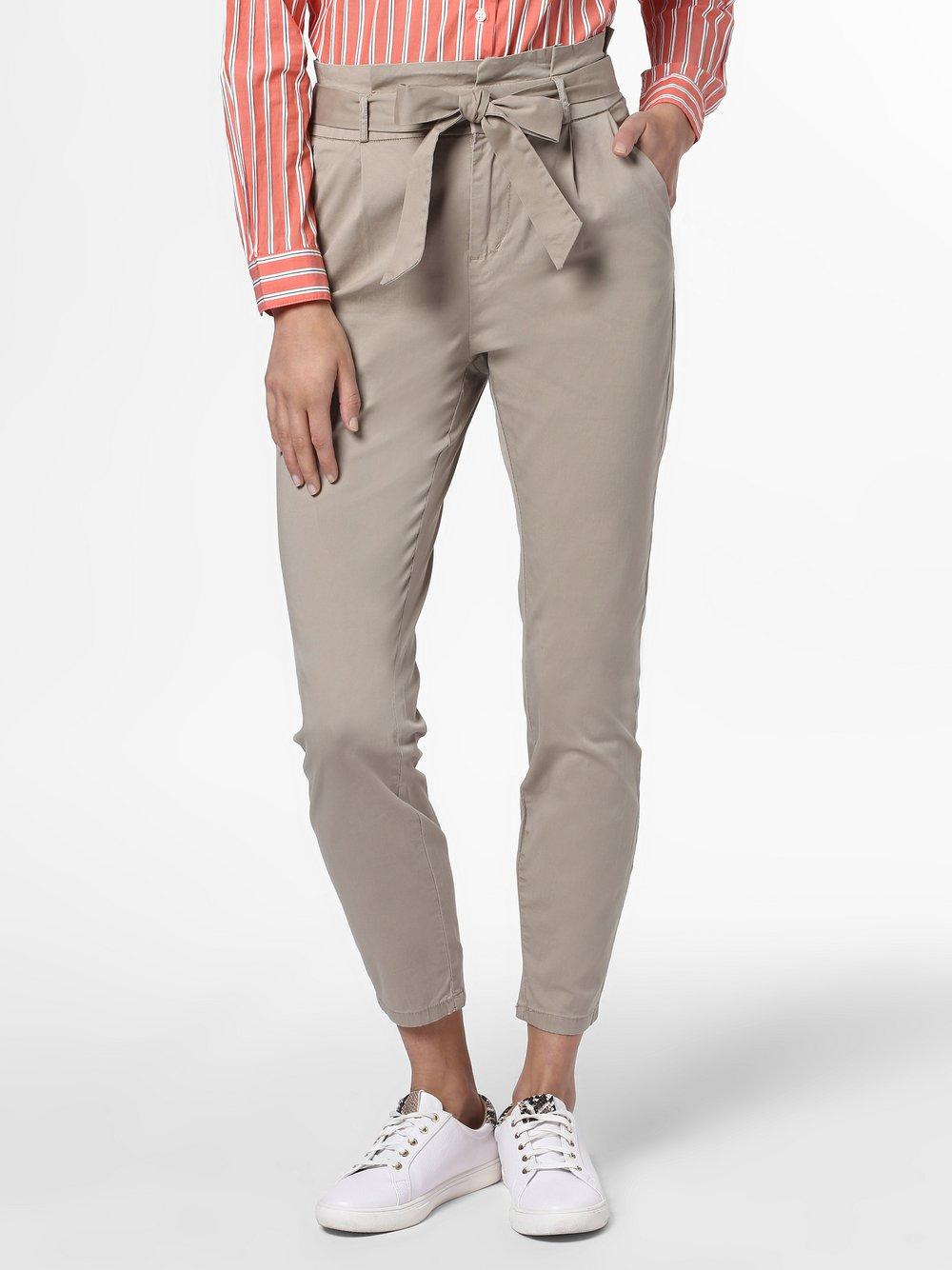 Vero Moda - Spodnie damskie – Vmeva, szary