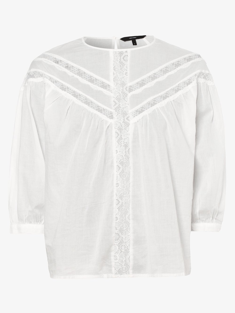 Vero Moda – Bluzka damska – Vmtiffany, biały Van Graaf 466406-0002