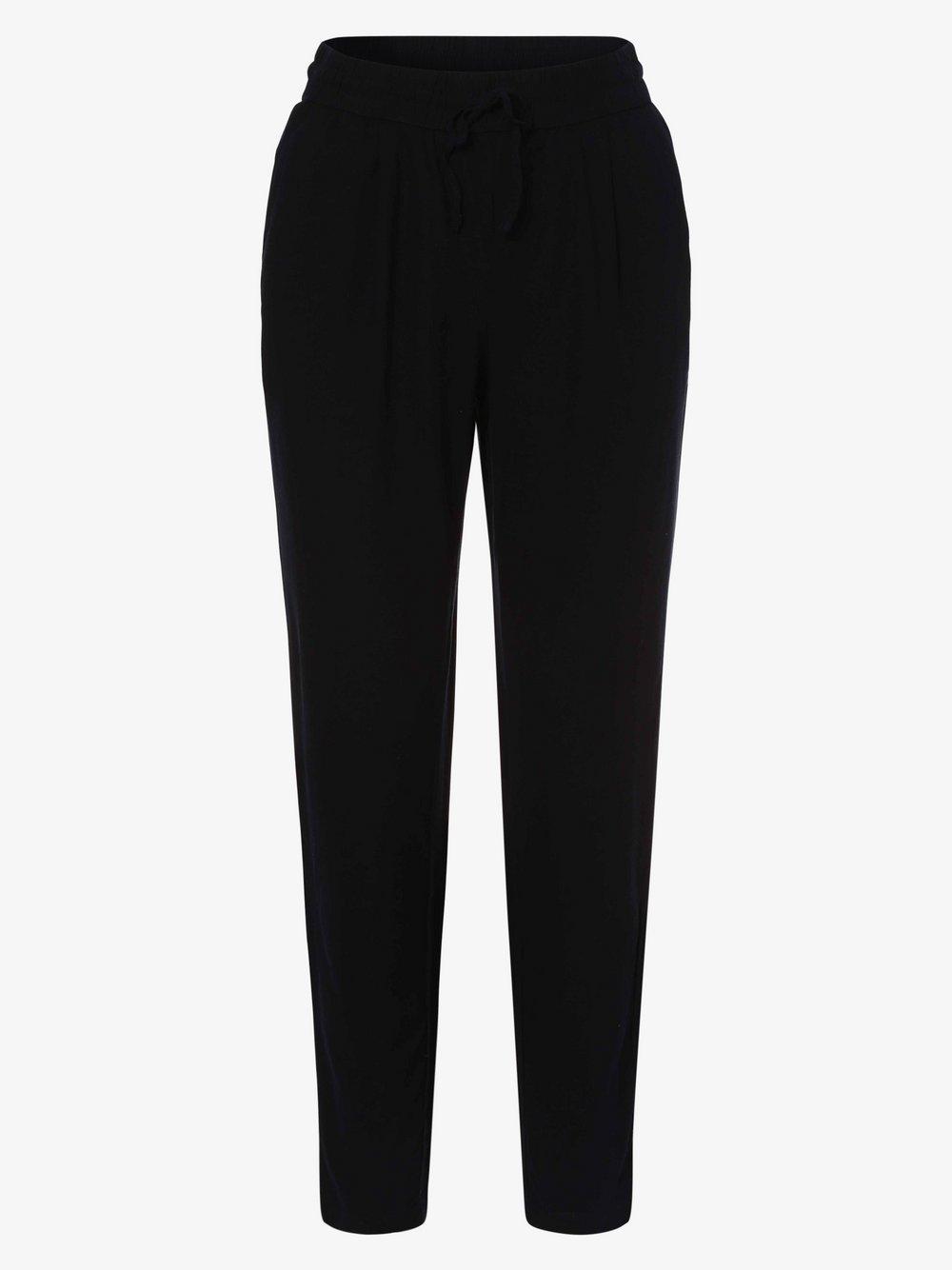 Vero Moda - Spodnie damskie z dodatkiem lnu – VMHelenmilo, niebieski