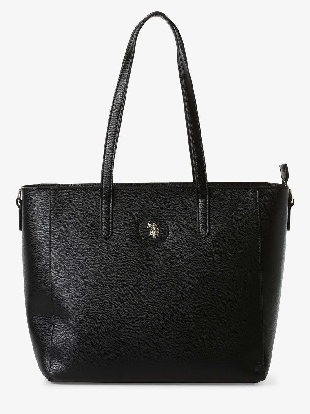 U.S. Polo Assn. – Damska torba shopper, czarny Van Graaf 466418-0001-00000