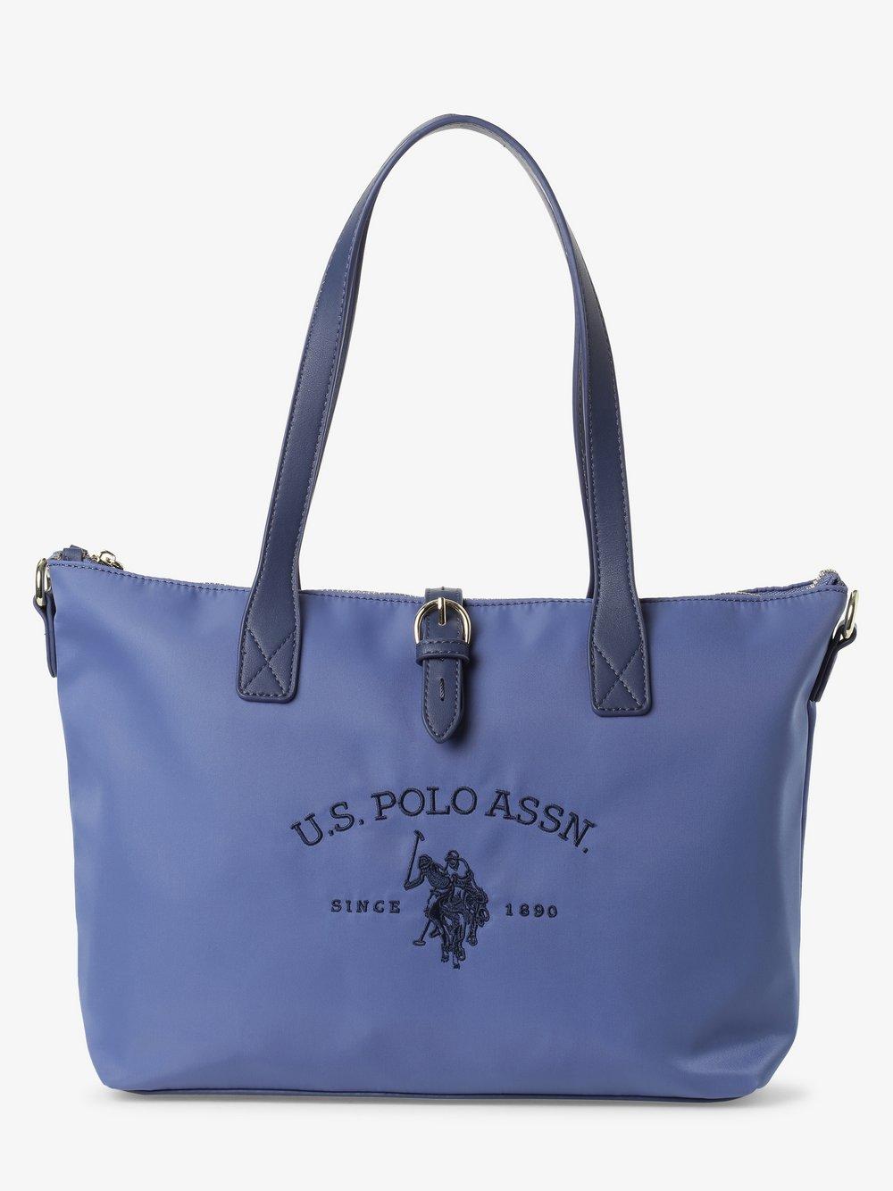 U.S. Polo Assn. – Damska torba shopper, niebieski Van Graaf 466425-0002
