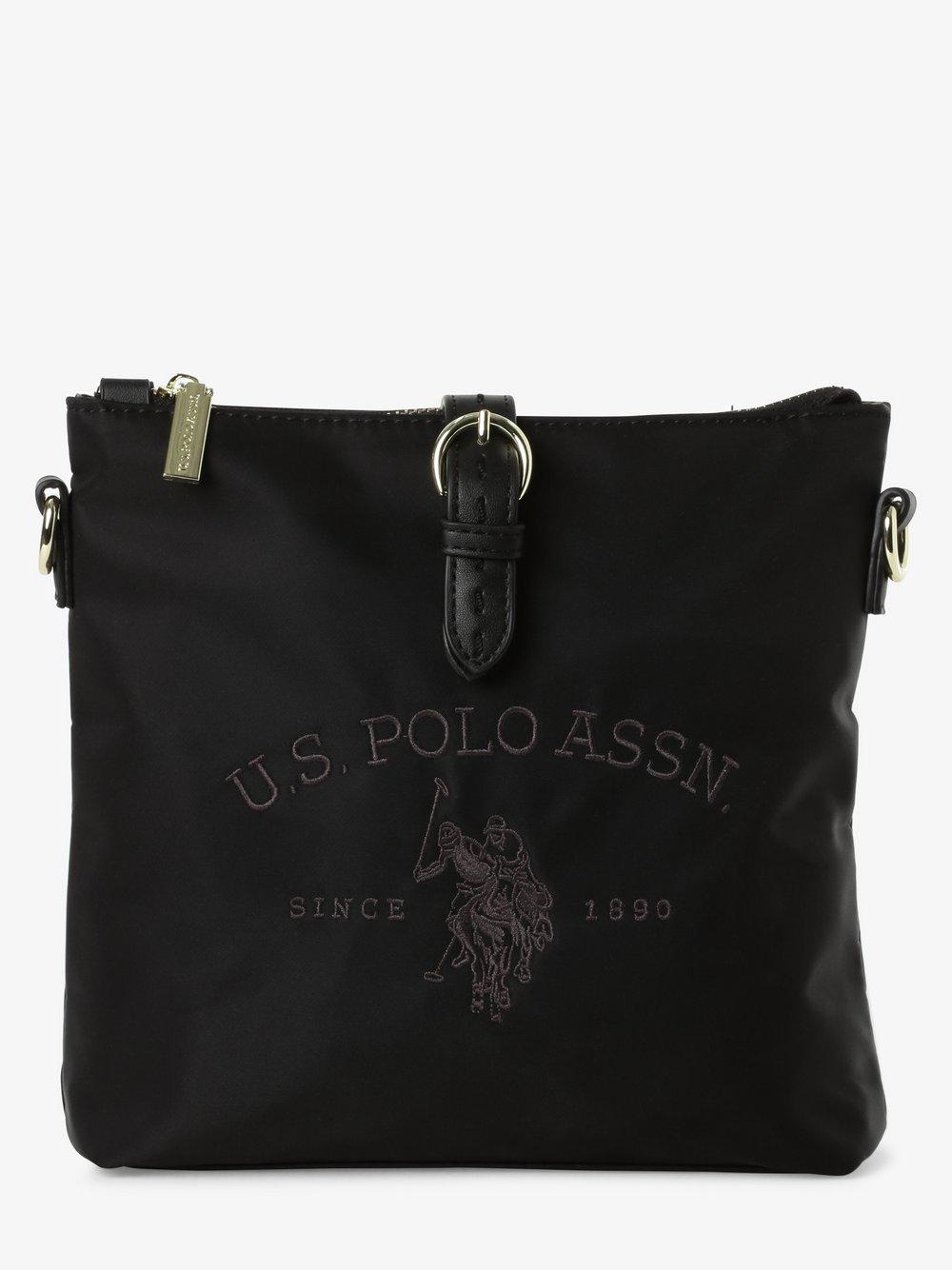 U.S. Polo Assn. – Damska torebka na ramię, czarny Van Graaf 466430-0001-00000