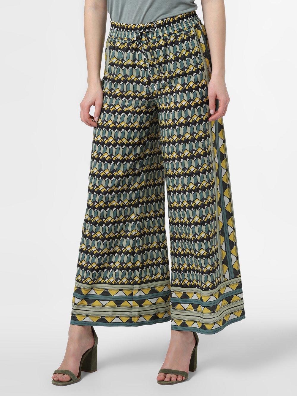 RAFFAELLO ROSSI – Spodnie damskie – Helena, zielony Van Graaf 466443-0001-00360