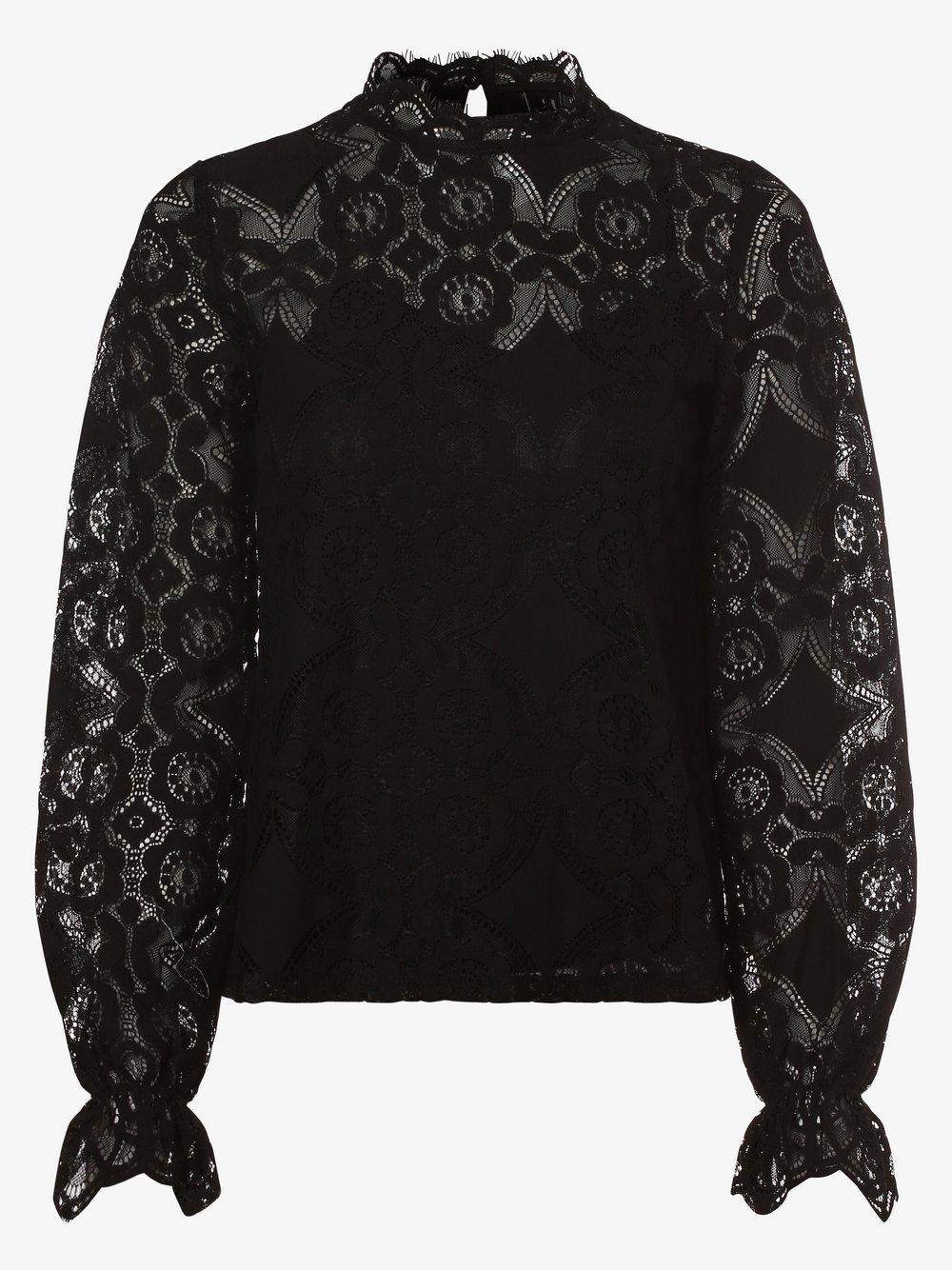 Vero Moda – Bluzka damska – Vmginny, czarny Van Graaf 466472-0001-09960