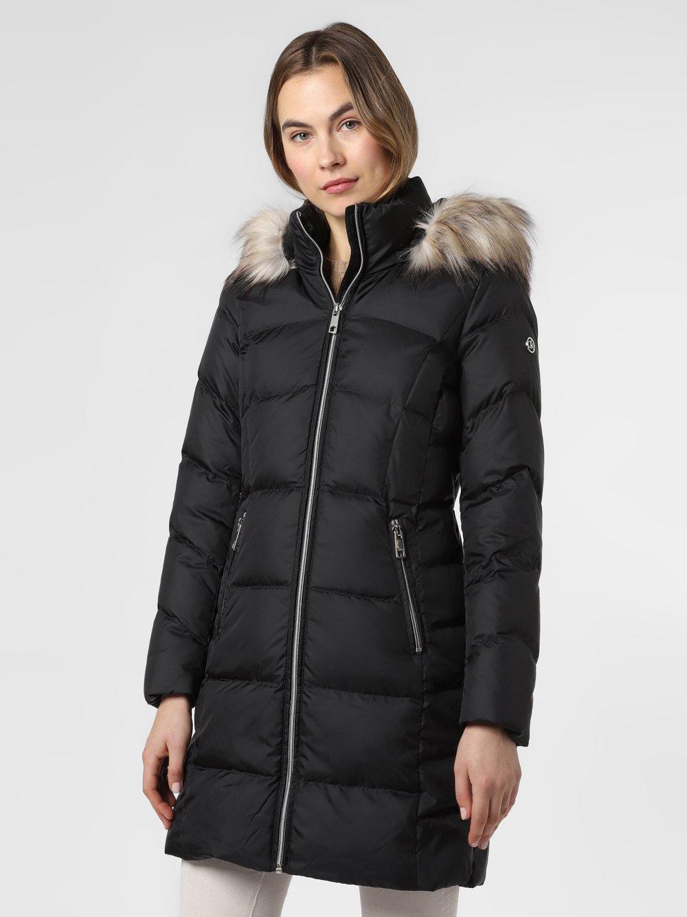 Calvin Klein - Płaszcz puchowy damski, czarny