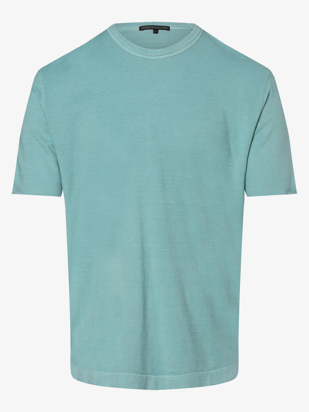 Drykorn - T-shirt męski – Raniel, niebieski