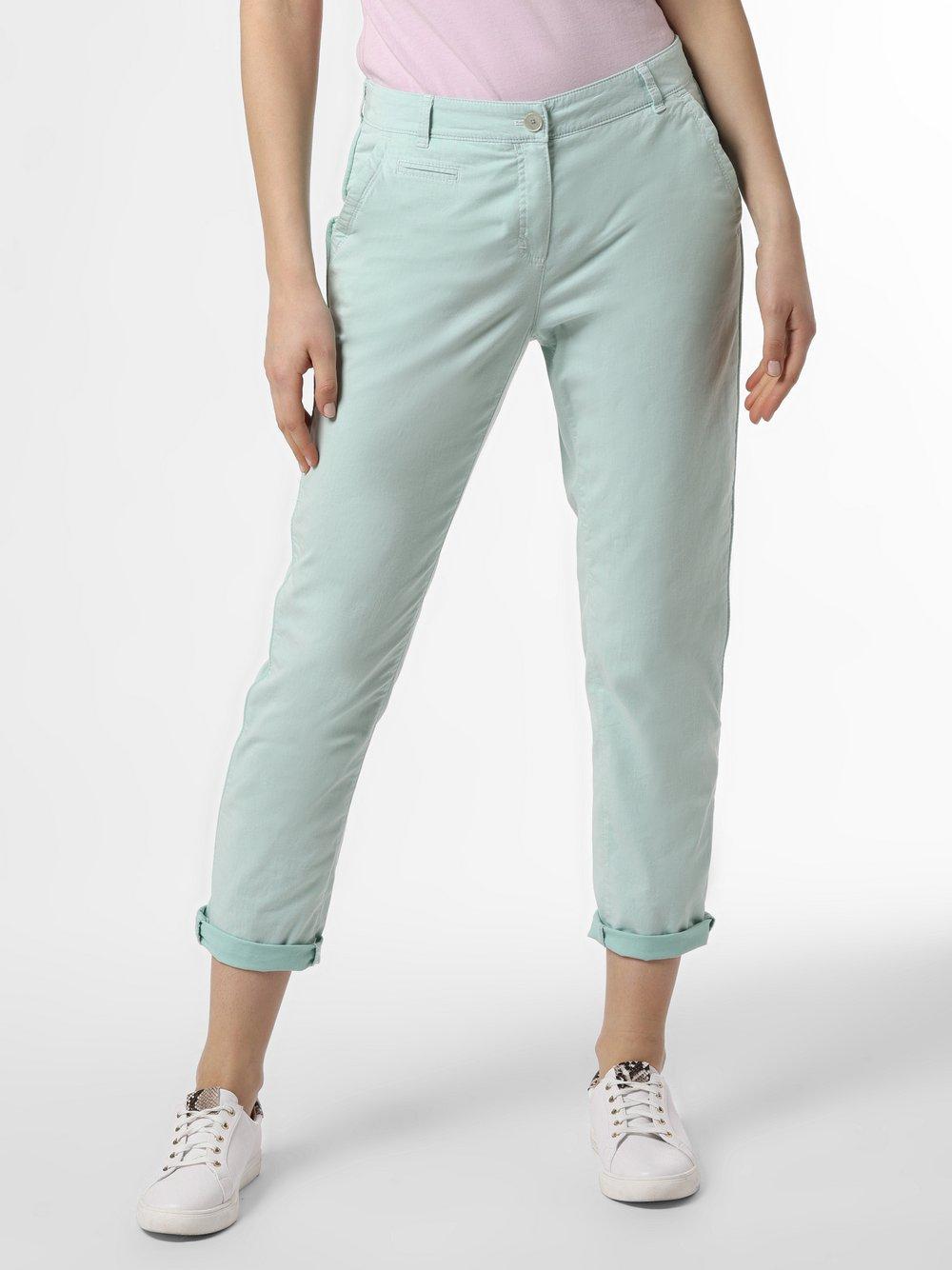 BRAX - Spodnie damskie – Rhonda S, zielony