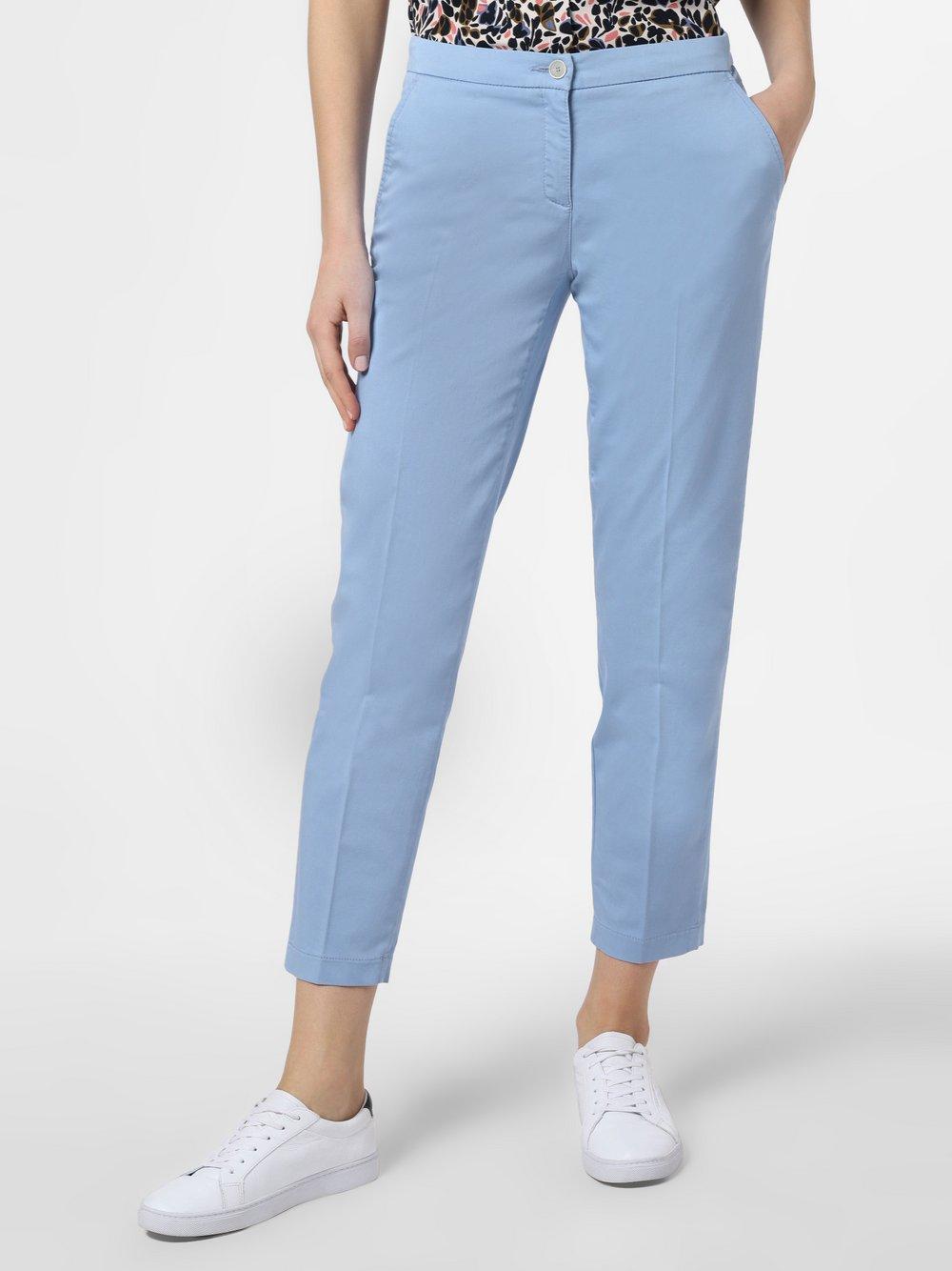 BRAX - Spodnie damskie – Maron, niebieski