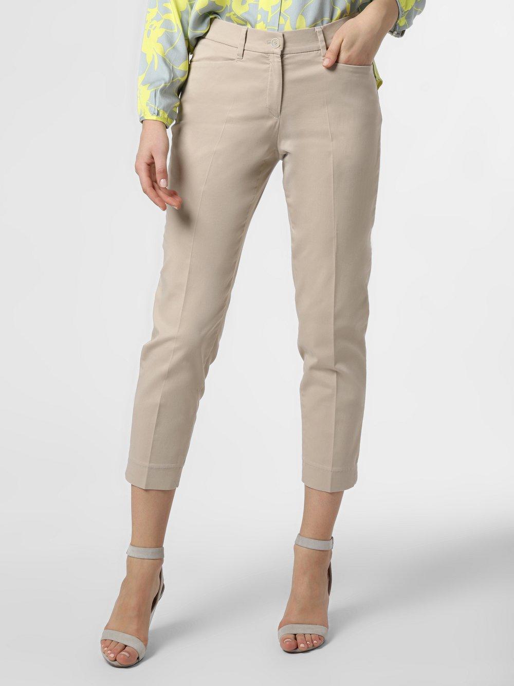 BRAX - Spodnie damskie – Mara S, beżowy