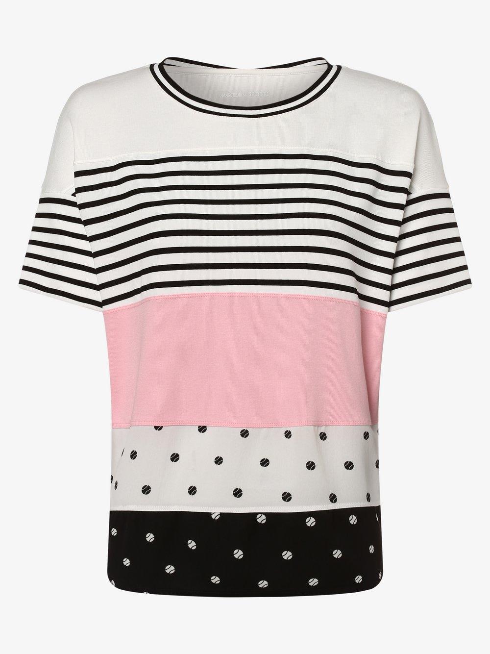 Marc Cain Sports – Koszulka damska, różowy Van Graaf 466791-0001-00380