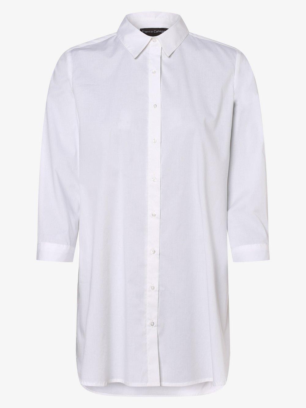Franco Callegari – Bluzka damska, biały Van Graaf 466843-0001-00360
