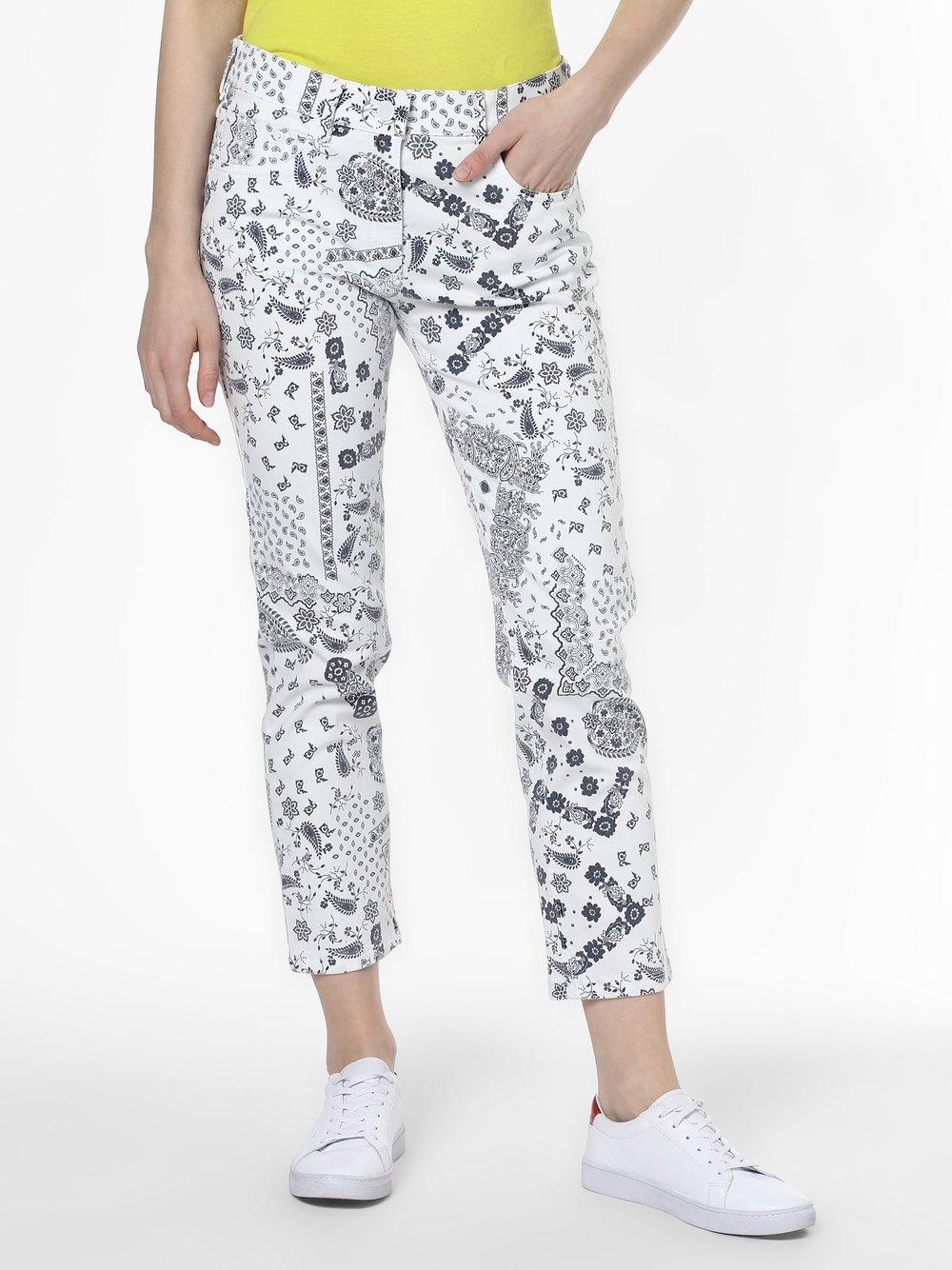 Zerres – Spodnie damskie, biały Van Graaf 466869-0001