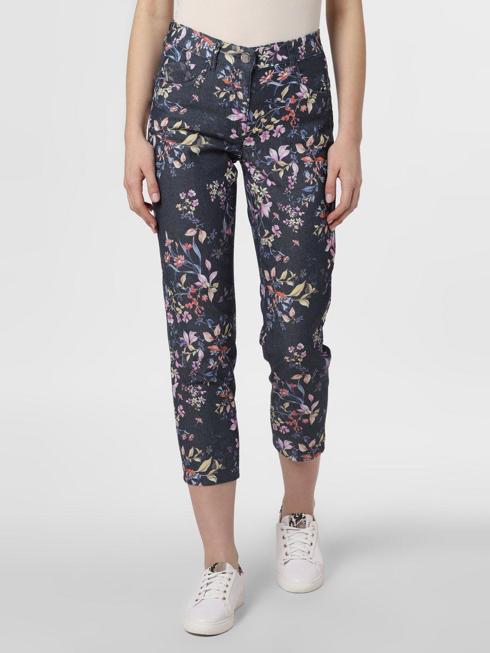 Zerres – Spodnie damskie, niebieski Van Graaf 466870-0001-00360