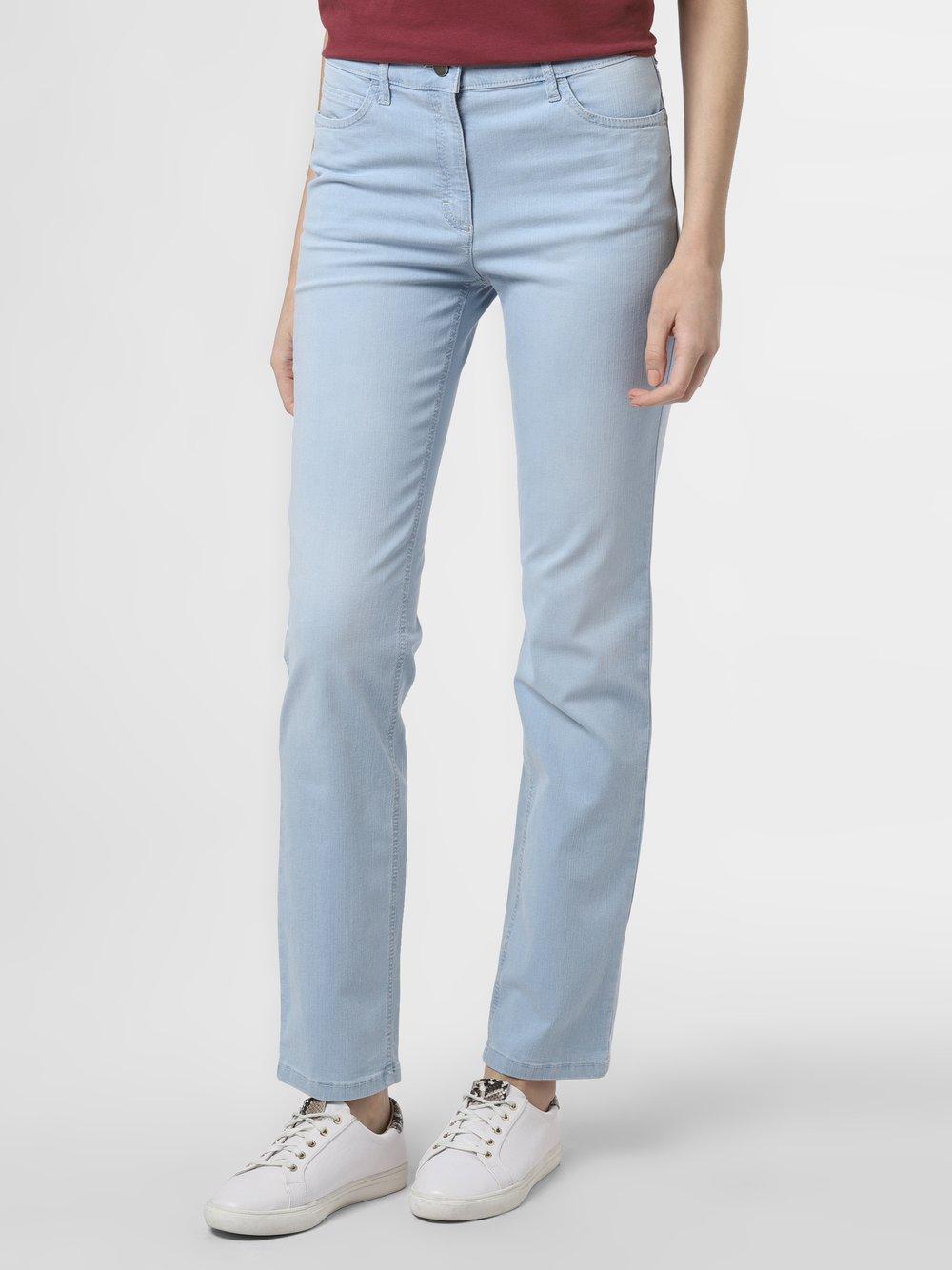 Zerres - Spodnie damskie, niebieski