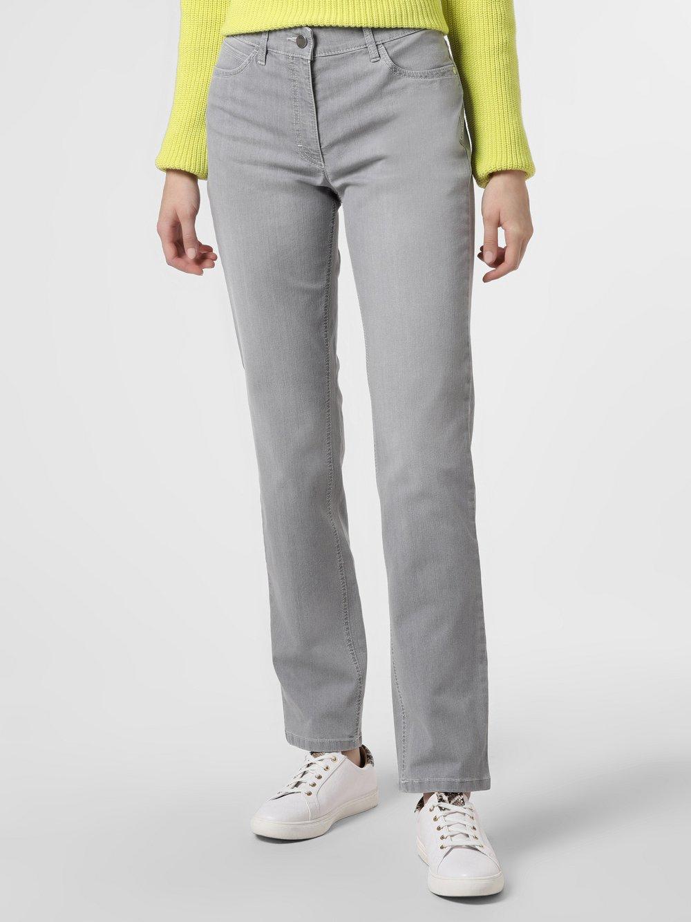 Zerres – Spodnie damskie, szary Van Graaf 466878-0002-00420