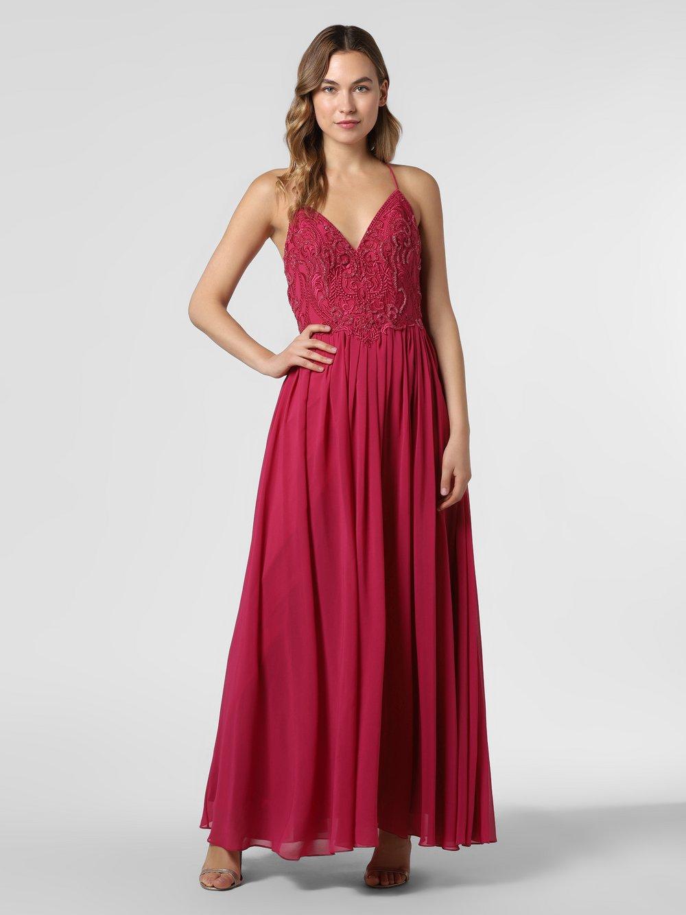 Laona – Damska sukienka wieczorowa, różowy Van Graaf 466889-0001-00380