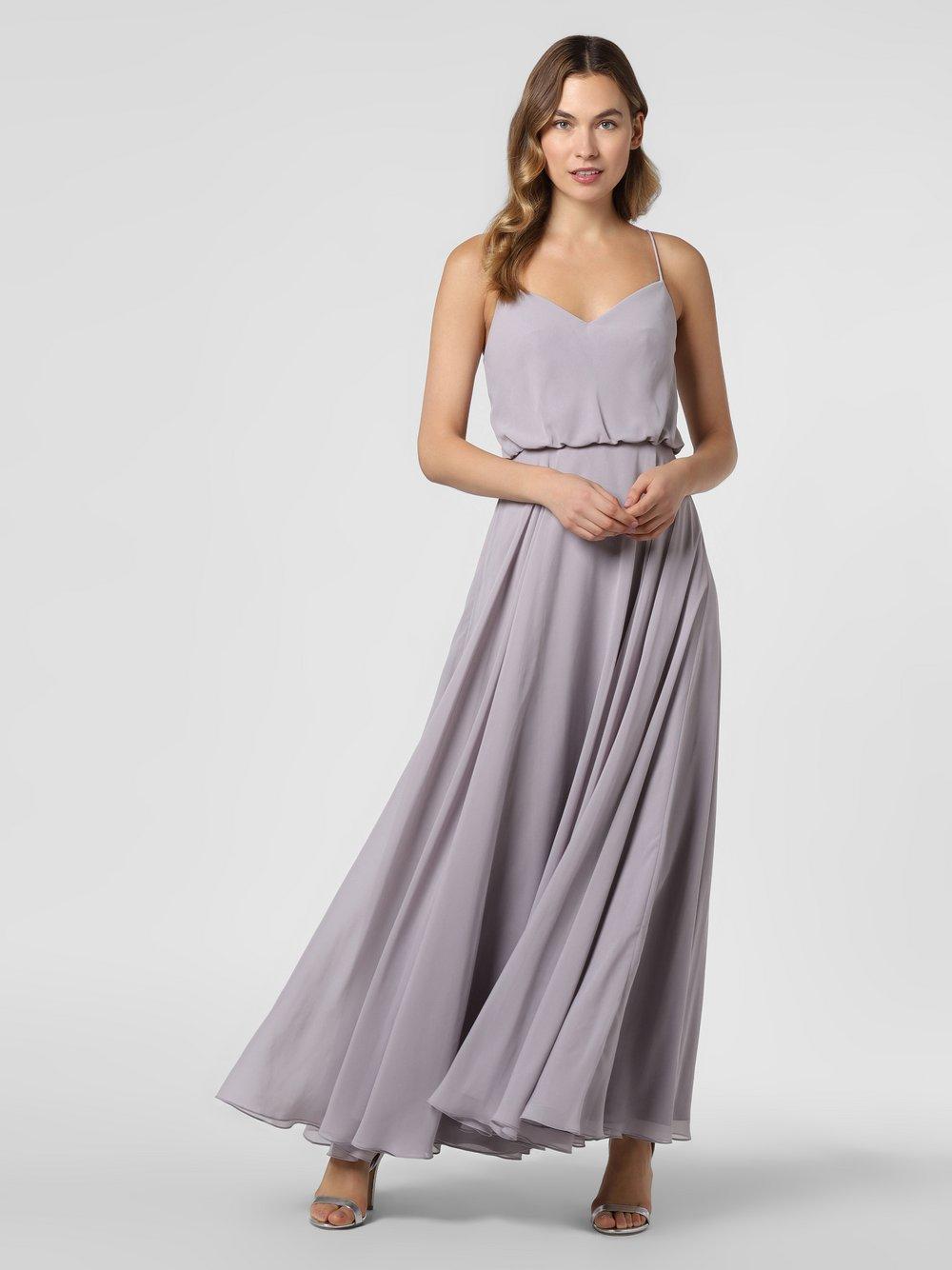 Laona – Damska sukienka wieczorowa, lila Van Graaf 466893-0002